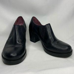 Dansko Women's Black Adrienne Antiqued Calf Bootie